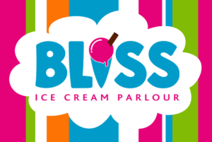 Bliss Logo With Stripes
