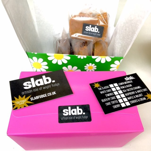 Slab Artisan Fudge Gift Box 7