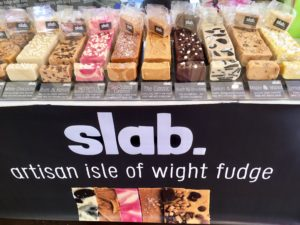 Slab Artisan Fudge - Taste of the South, Poole