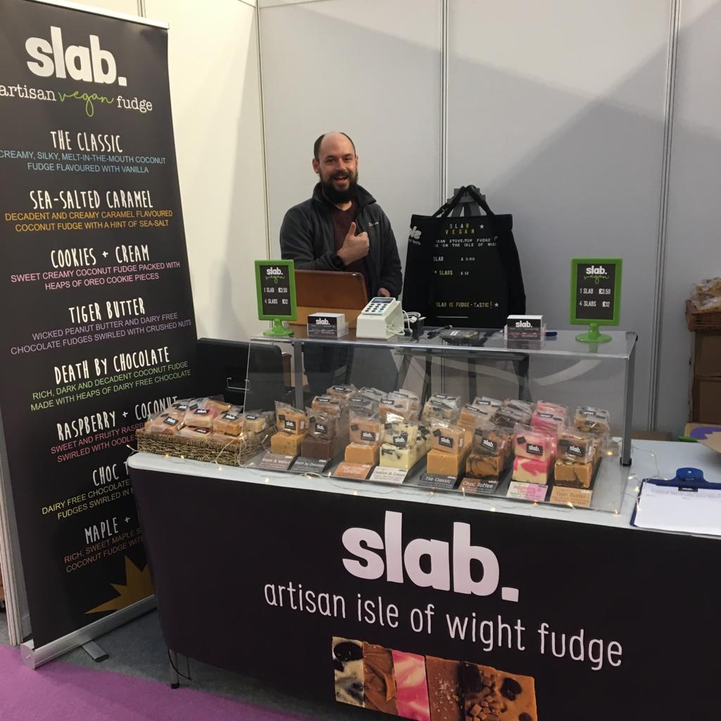 Slab @ Vegan Life Live, London 4