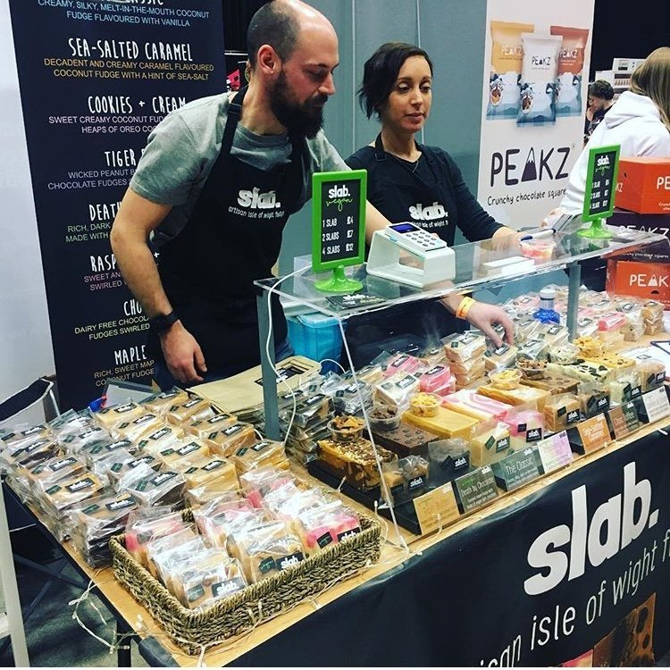 Slab Artisan Fudge @ Vegfest 4