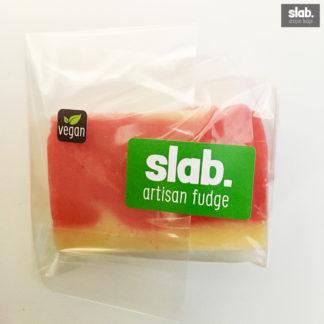 Vegan-Raspberry & Coconut Slab - Front