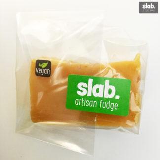 Vegan-Salted Caramel Slab - Front