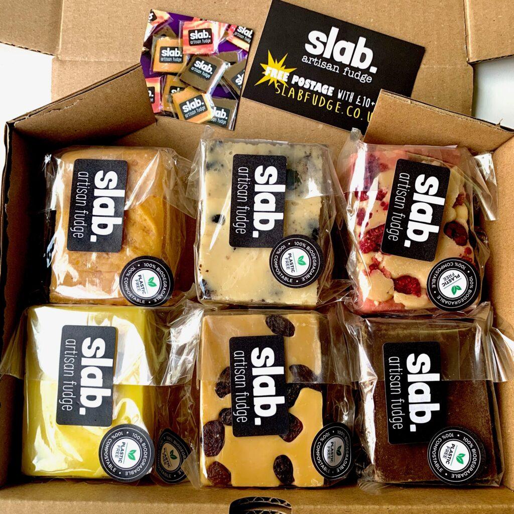 Slab Artisan Fudge - Dairy Postal Box Image